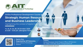 Strategic Human Resource Management and Business L...